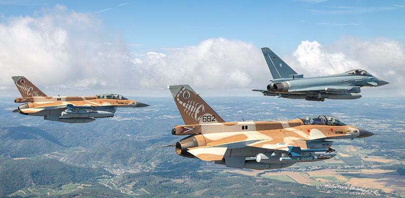 Joint Israeli-German aircraft exercises  / Photo: Luftwaffe