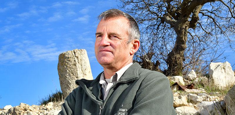 """שאול גולדשטיין, מנכ""""ל רשות הטבע והגנים  / צילום: רפי קוץ, גלובס"""