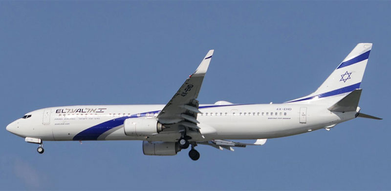 El Al 737-900 / Photo: Yoav Yaari