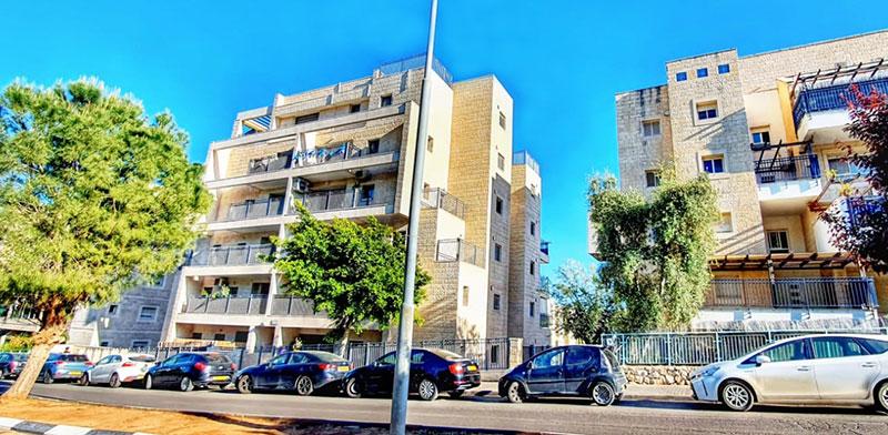 רחוב רבי ינאי בשכונת נופי השמש, בית שמש / צילום: אנגלו סכסון