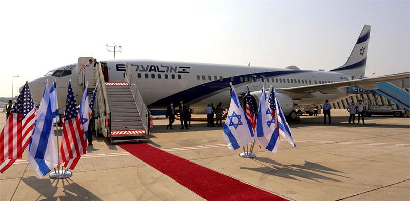 El Al plane to Abu Dhabi  / Photo: Sivan Faraj