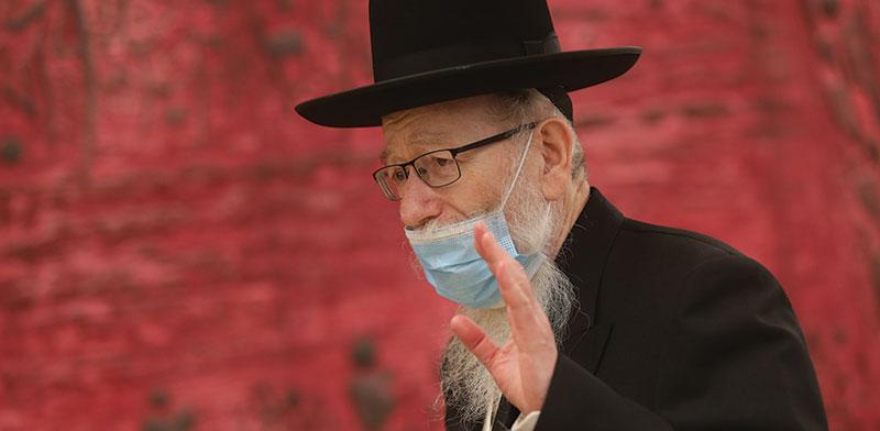 Yaakov Litzman  / Photo: Alex Kolomoisky, Yedioth Ahronoth