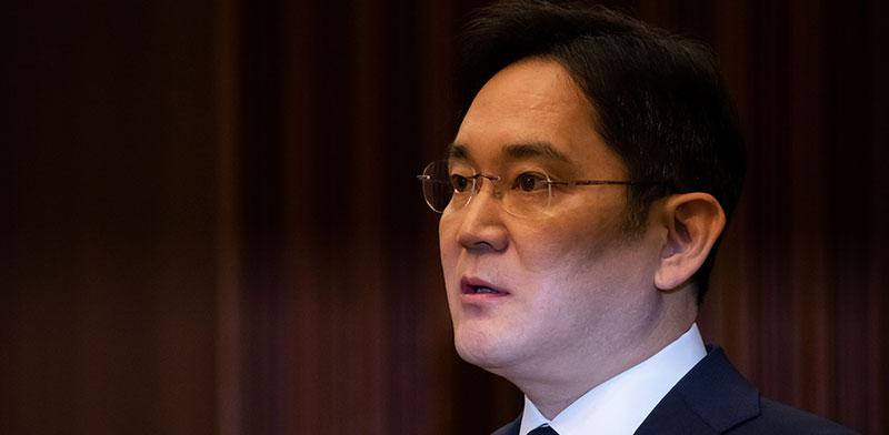 לי ג'ה־יונג, הנכד של מייסד סמסונג / צילום: SeongJoon Cho, רויטרס