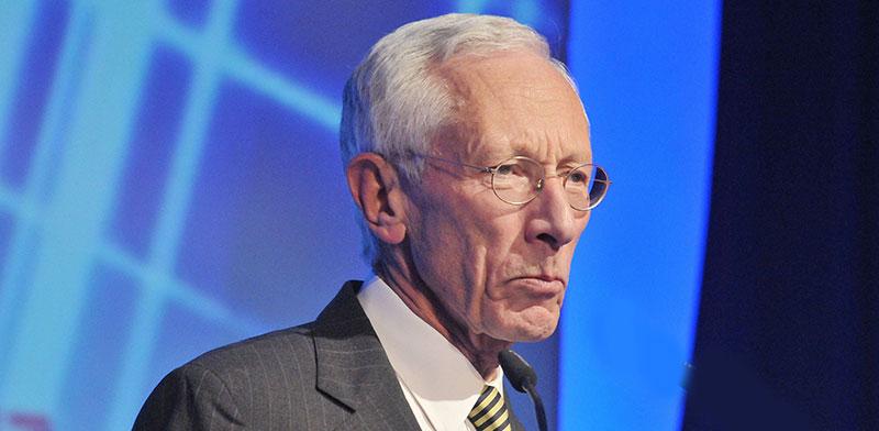 Stanley Fischer / Photo: Tamar Matsafi, Globes