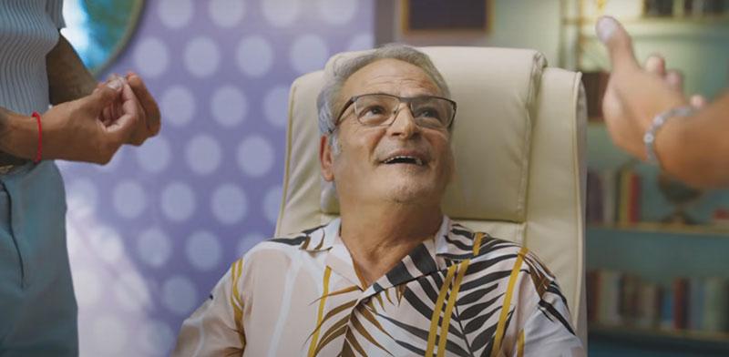 הבוזגלוס בקמפיין החדש של בזק / צילום: צילום מסך