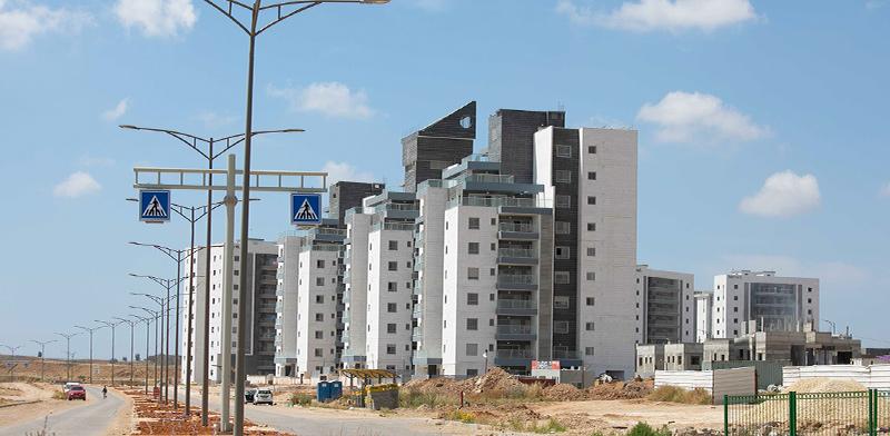 שכונה בבנייה / צילום: דיאגו מיטלברג