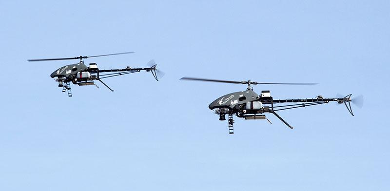 MultiFlyer helicopter UAV  / Photo: IAI