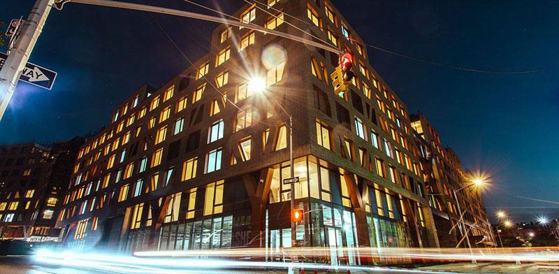 """בניין Denizen Bushwick, נכס של חברת הנדל""""ן אול-יר ברובע ברוקלין, ניו יורק  / צילום: מצגת All Year"""