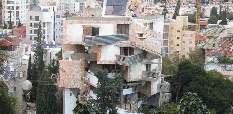 בית הספיראלה ברחוב צל הגבעה  / צילום: נעה שק, אדריכלית תיעוד ושימור מבנים