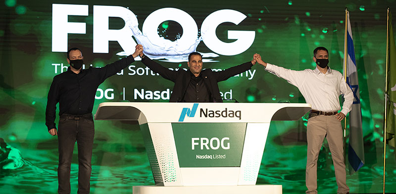 JFrog IPO / Photo: SO&CO event management