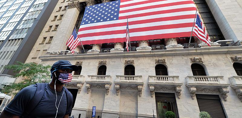 בניין בורסת המניות של ניו יורק, החודש  / צילום: Anthony Behar, רויטרס