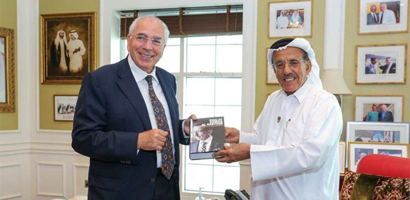 Khalad Ahmad Al Habtoor and Shlomi Fogel  / Photo: PR