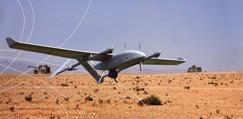 BlueBird Aero Systems UAV / Photo: IAI