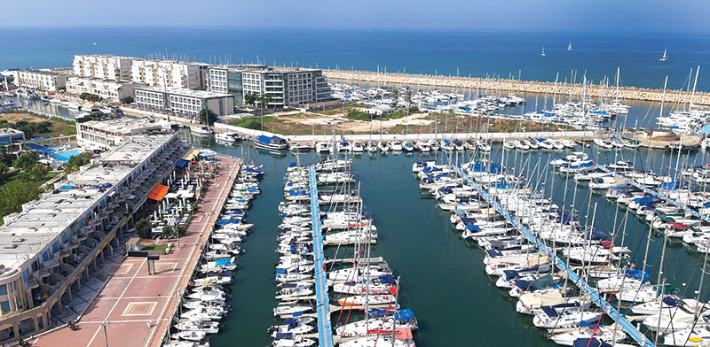 Herzliya Marina  / Photo: Dov Greenblatt, החברה להגנת הטבע
