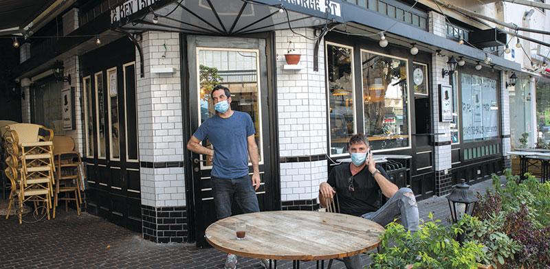 מסעדה סגורה בצל הסגר בישראל / צילום: כדיה לוי, גלובס