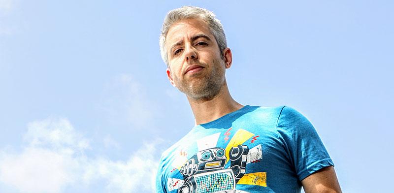 המגיש והעורך דרור גלוברמן / צילום: שלומי יוסף, גלובס