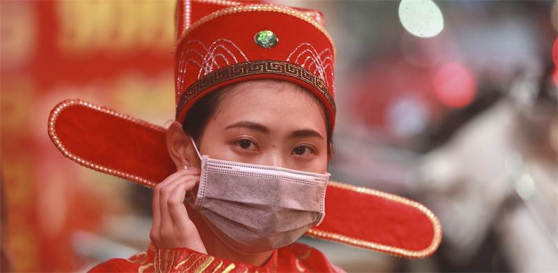 בהלת הקורונה / צילום: Hau Dinh, AP