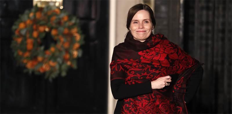 ראשת ממשלת איסלנד, קתרין יאקובסדוטיר / צילום: Alastair Grant, Associated Press