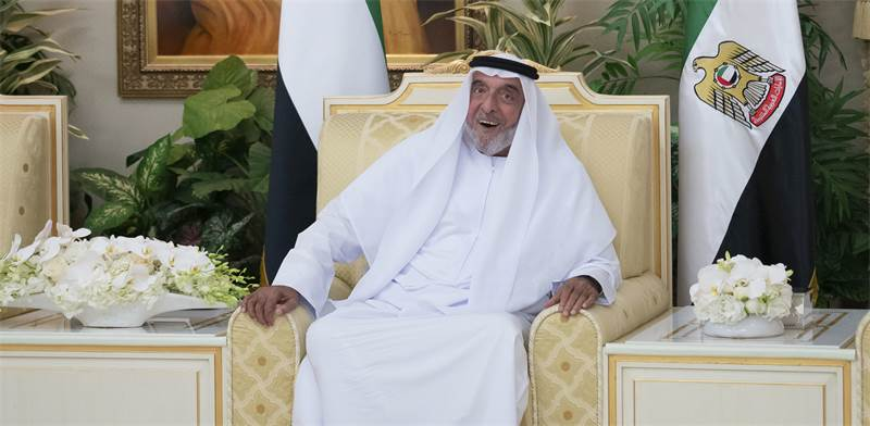 השיח' ח'ליפה בין זאייד אל נאהיאן, שליט איחוד האמירויות / צילום: Rashed al-Mansoori/Ministry of Presidential Affair, AP
