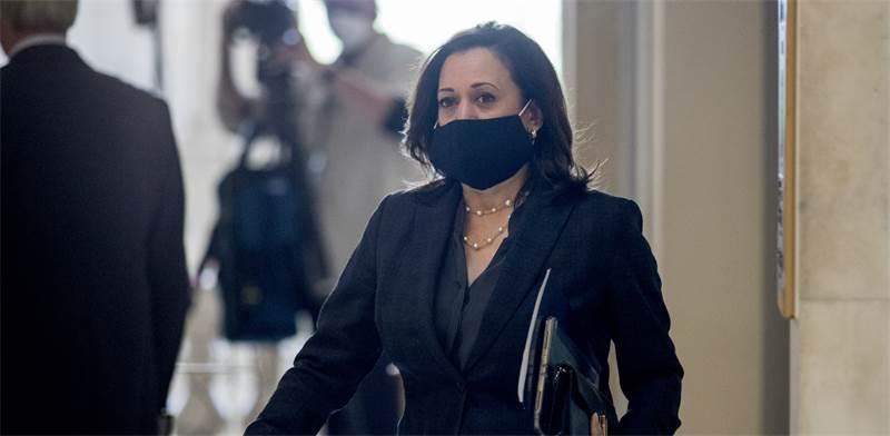 """קמלה האריס, סגנית נשיא ארה""""ב / צילום: Andrew Harnik, AP"""