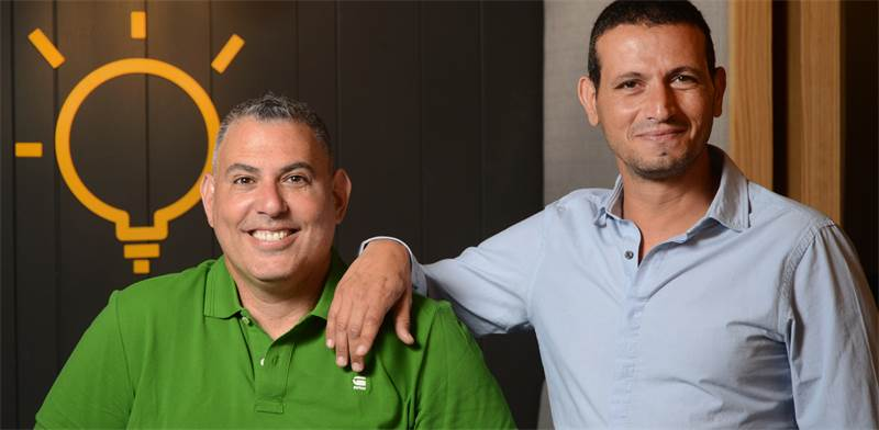 מימין: רובי ניסן ורועי כהן, ממייסדי פטשר / צילום: איל יצהר, גלובס