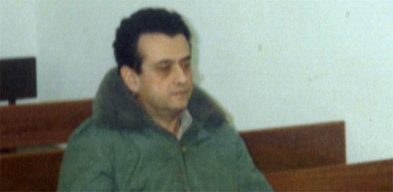 """תמונה שצולמה בזמן משפטו של רמי דותן בשנת 1990 / צילום: בית הדין הצבאי המיוחד בת""""א"""