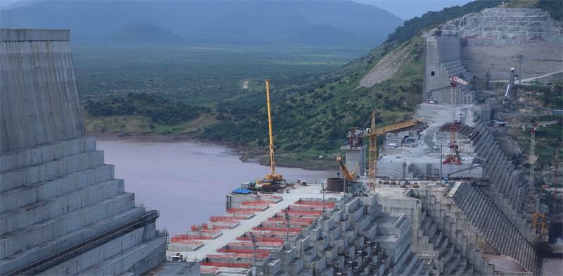 """""""בניית הסכר באתיופיה, אוקטובר 2019 / צילום: רויטרס"""