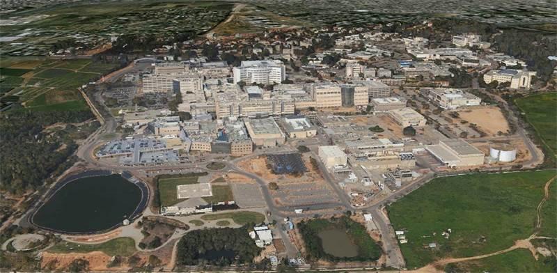 תל השומר - מבט מלמעלה / צילום: יחצ