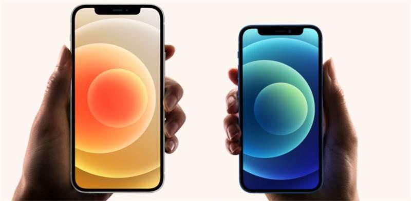 אייפון 12 מול אייפון 12 מיני / צילום: הערוץ הרשמי של אפל