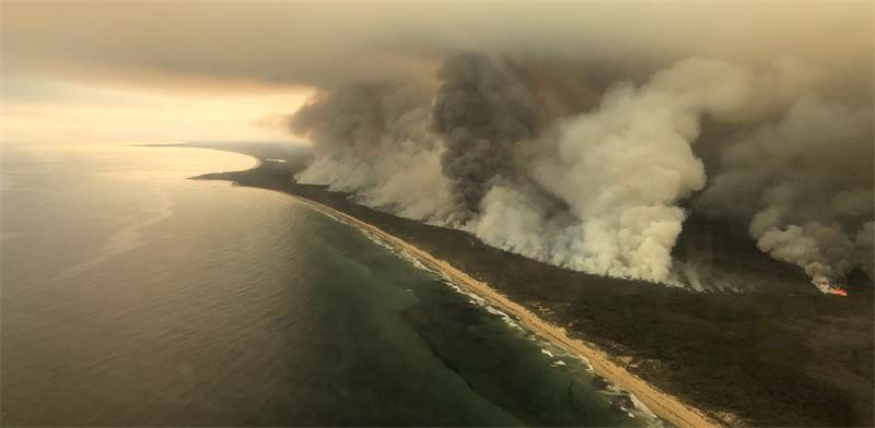 fires in Australia  / Photo: Australian Maritime Safety Authority, Reuters