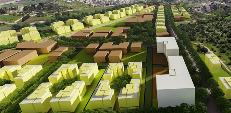 תוכנית רכסים צפון / הדמיה: עמוס ברנדייס אדריכלים