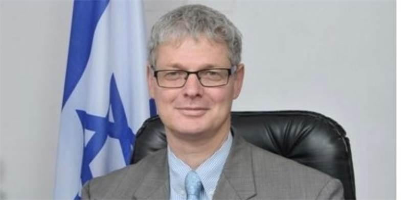 """אלון אושפיז  / צילום: משרד החוץ, יח""""צ"""