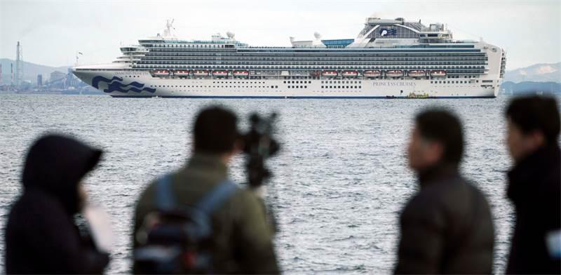 ספינת הקורונה / צילום: STF, AP