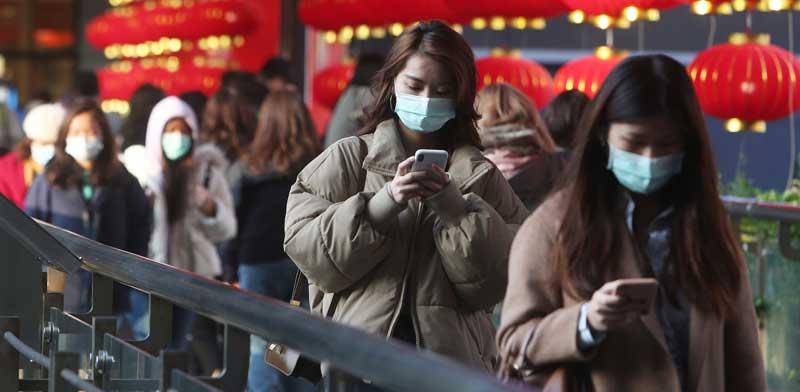 מרכז קניות בטייוואן בסוף ינואר לאחר התפרצות וירוס הקורונה בסין / צילום: AP