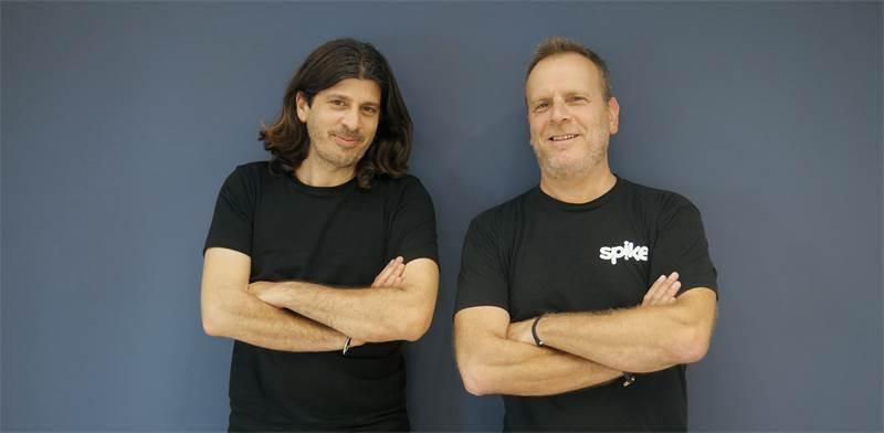 """דביר בן-ארויה וארז פילוסוף, מייסדי ספייק / צילום: Spike, יח""""צ"""