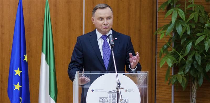 נשיא פולין, אנדז'יי דודה / צילום: Domenico Stinellis, Associated Press