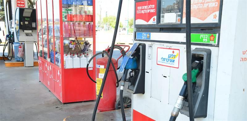 תחנת דלק של דלק ישראל / צילום: תמר מצפי, גלובס