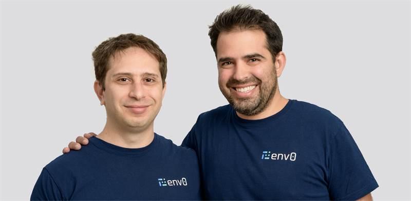 מייסדי אנב-זירו, עמרי חי ואוהד מייזליש / צילום: דיוויד גראב