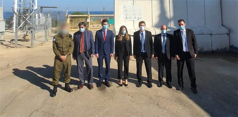 Israel delegation to Lebanon maritime border talks / Photo: Ministry of Energy