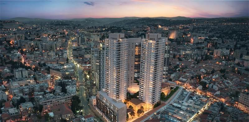 Jerusalem Mahane Yehuda residential project / Imagin: PR