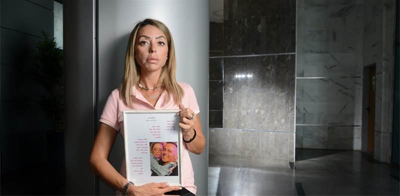 חלי בן זיקרי, אשתו של מיכאל בן זיקרי כשנהרג כשהציל משפחה מטביעה / צילום: איל יצהר, גלובס