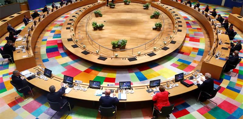 מפגש פסגה של מנהיגי האיחוד האירופי בבריסל / צילום: Francois Lenoir, AP