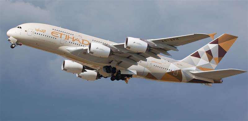 Etihad Airways  / Photo: Shutterstock