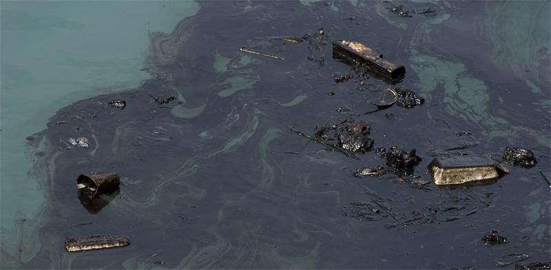 זיהום נפט בים / צילום: שאטרסטוק