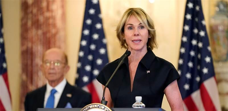 """קלי קרפט, שגרירת ארצות הברית באו""""ם / צילום: AP Photo, AP"""