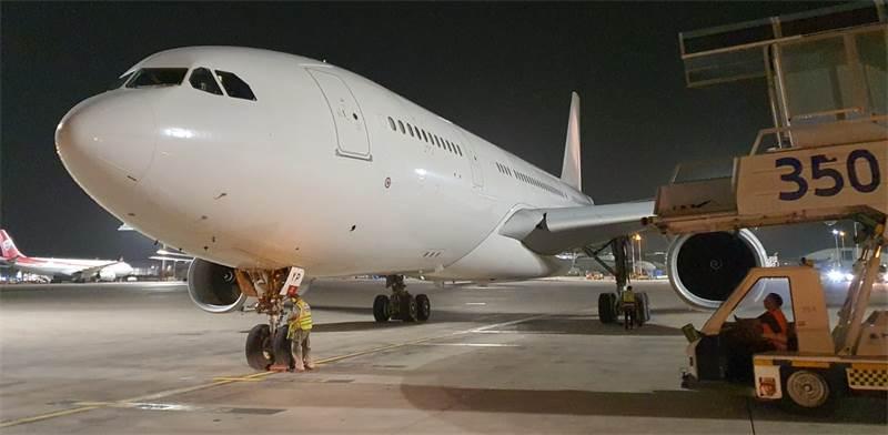 Etihad Airways plane at Ben Gurion airport  / Photo: IAA Spokesperson
