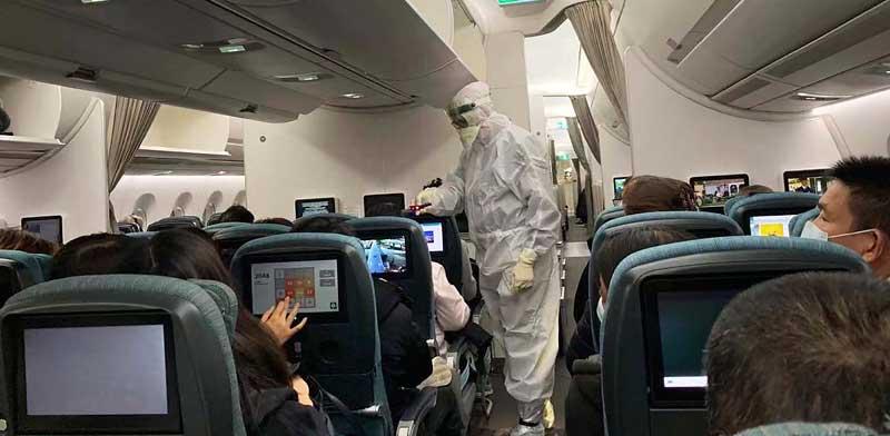 כוננות קורונה בשדה התעופה ברומא / צילום: AP, Erika-Kinetz