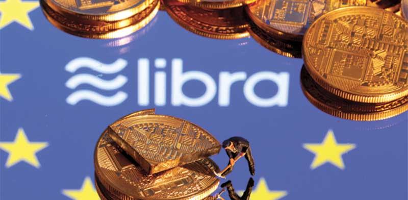 המטבע הדיגיטלי של פייסבוק. השם ישתנה / צילום: רויטרס, ERIN SCOTT