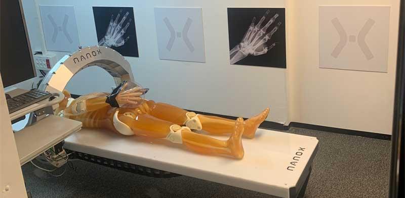 מכונת הרנטגן של ננוקס / צילום: ננוקס