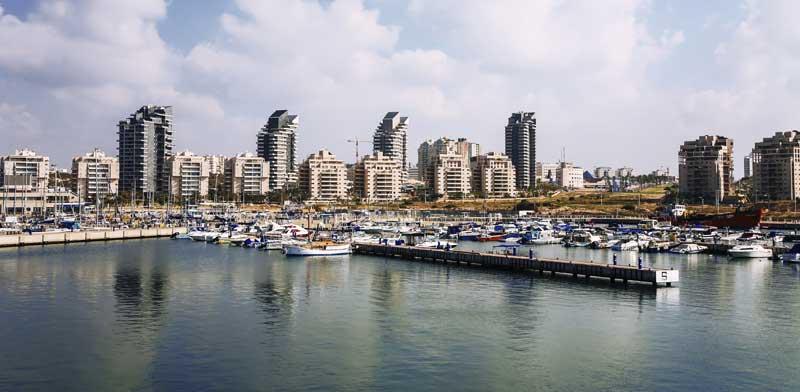 Ashdod seafront promenade
